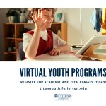 Virtual Summer Courses for Kids with CSUF!