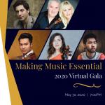 Philharmonic Society's 2020 Virtual Gala: Making Music Essential
