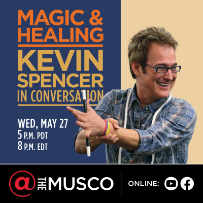 Magic & Healing: Kevin Spencer in Conversation - Online