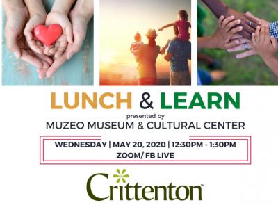 MUZEO Virtual Series:  Lunch & Learn