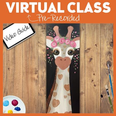 Virtual Paint Class with Pinot's Palette