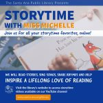 Virtual Programming @ Santa Ana Public Library: Virtual Storytime with Miss Michelle