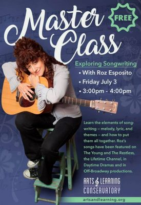 Free Master Class in Songwriting with ALC