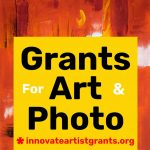 $550.00 Innovate Grants - Call for Artists + Photo...