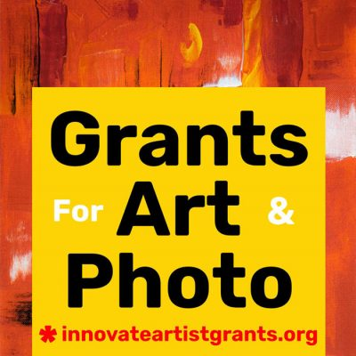 $550.00 Innovate Grants - Call for Artists + Photographers
