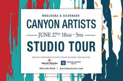 Canyon Artists Tour in Modjeska & Silverado