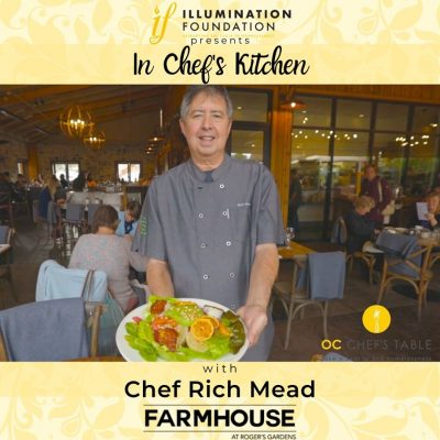 In Chef's Kitchen:  Virtual Cooking Fundraiser