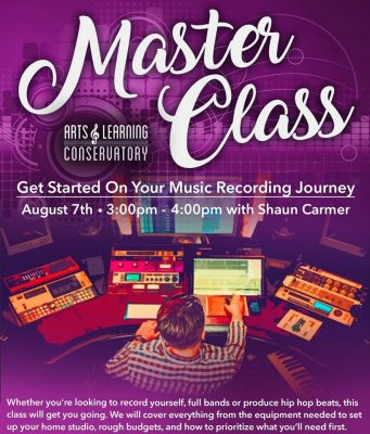 Free Master Class:  Music Recording