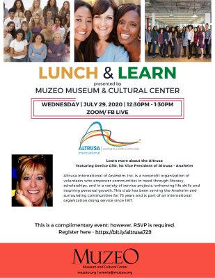 Lunch & Learn with MUZEO