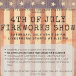 CANCELLED - Fourth of July Celebration - LIVE Stream!