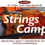 Beginning Strings Camp at Arts & Learning Conservatory
