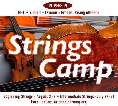 Beginning Strings Camp at Arts & Learning Cons...