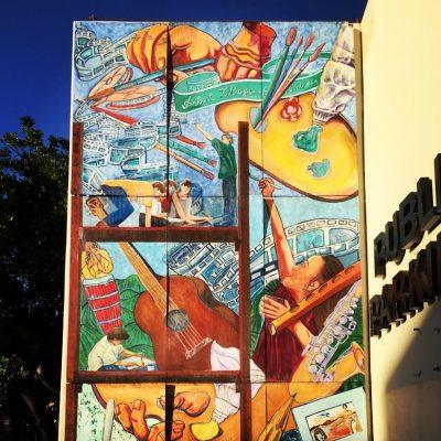 Artist Village Mural