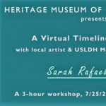 Create A Virtual Timeline with Sarah Rafael Garcia!