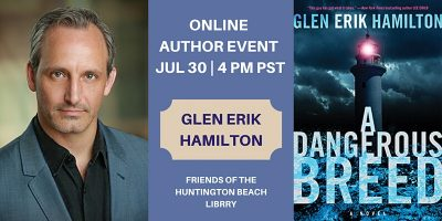 Author Event:  Glen Erik Hamilton