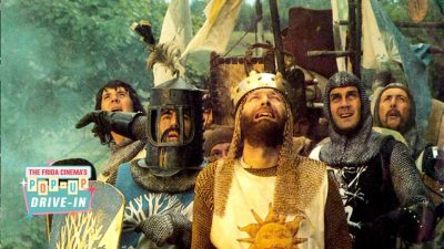 SOLD OUT -  Drive-In Movie:   Monty Python and the Holy Grail