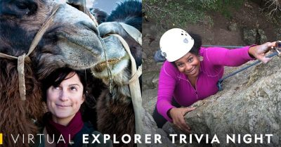 Virtual Explorer Trivia Night with NatGeo!