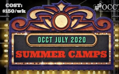 Virtual - Summer Theatre Camps