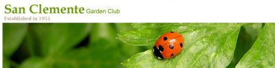 San Clemente Garden Club