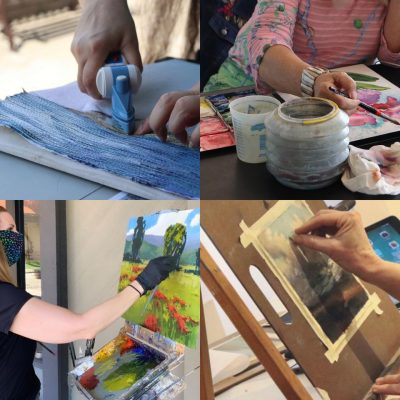 Artist Demos at Chemers Gallery