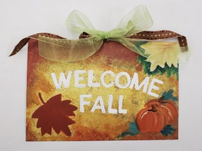 Family Art Time: Painting - Fall Family Sign with the Irvine Fine Arts Center