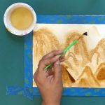 Kidseum Art Kit- Coffee Painting