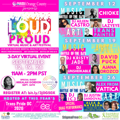 """Loud & Proud"" Virtual Music & Art Festiva..."