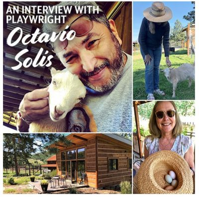 A Livestream Interview with Playwright Octavio Sol...