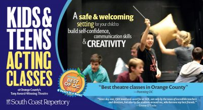 Acting Classes for Kids & Teens at South Coast Repertory