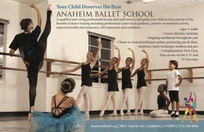 Dance Classes with Anaheim Ballet School