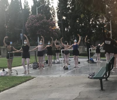 Outdoor Dance Classes at Anaheim Ballet