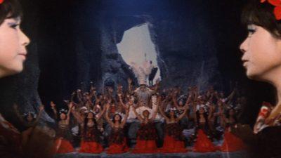Drive-In Movie:  Ghidorah, the Three-Headed Monste...