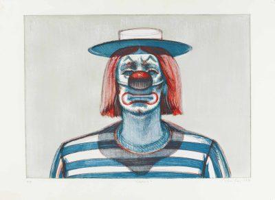 Wayne Thiebaud:  Clowns