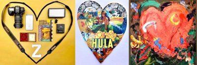 Create a Heart Collage with LOCA Arts