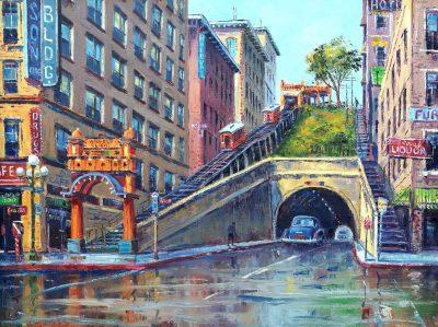 On Exhibit:  Los Angeles Area Scene Paintings