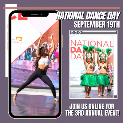 National Dance Day with Segerstrom!