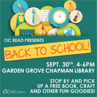 Free OC Read Event