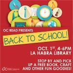 La Habra:  Free OC Read Event