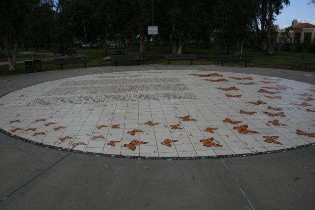 Walkway Butterfly Mural