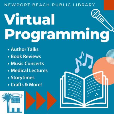 Online:  Newport Beach Library Programs