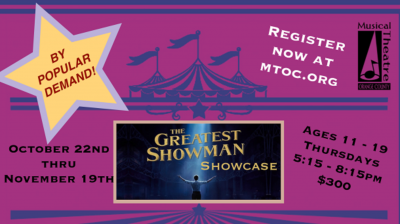 The Greatest Showman Showcase with MTOC