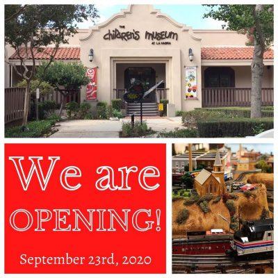 OPEN!   Children's Museum of La Habra