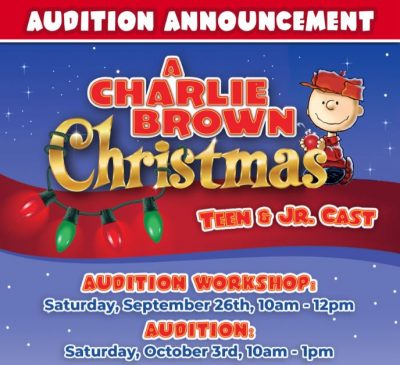 Charlie Brown Christmas Auditions
