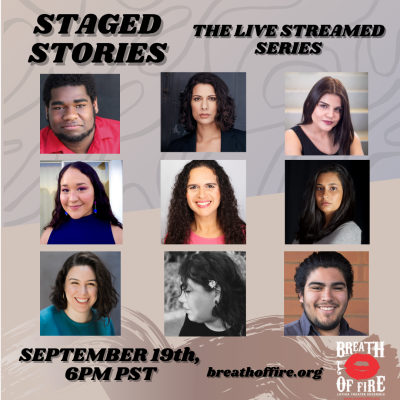 STAGED STORIES A Live Streamed Series - Episode #4