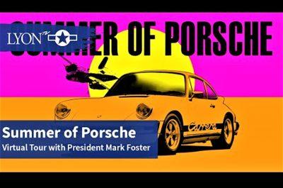 Summer of Porsche at Lyon Air Museum