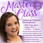Master Class:  Exploring Character Development