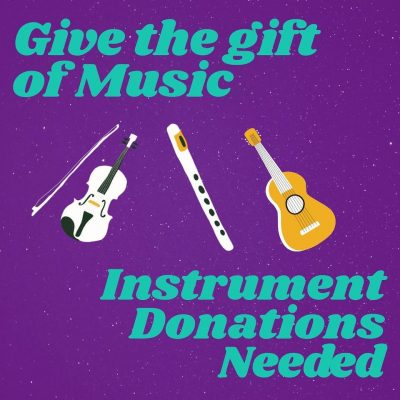 Donate Your Musical Instruments