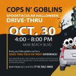 Buena Park:  Drive-thru Trick or Treat