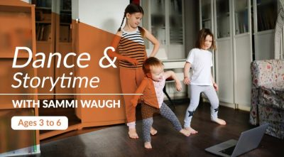 Dance & Storytime with Backhausdance!