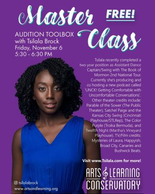 ALC Master Class:  Audition Toolbox